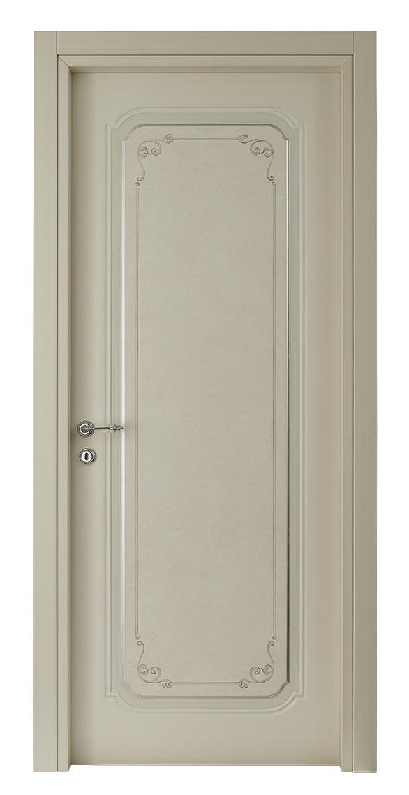 I Decorati – D 512 Q Bianco patinato con argento