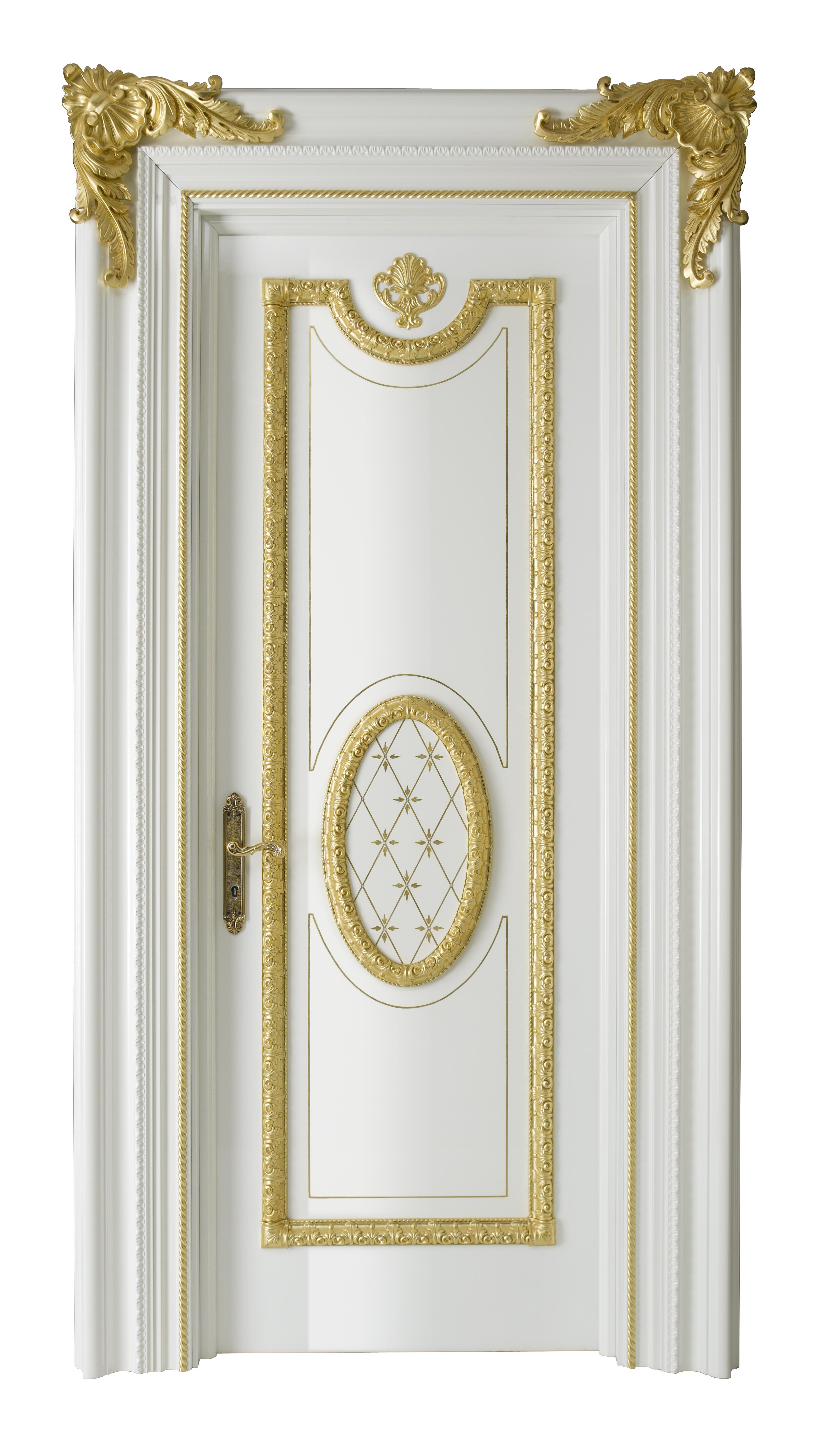 Imperium – CASSIA Q Bianco lucido con oro 100 Ovale Ce-Os – Portale Dap 17