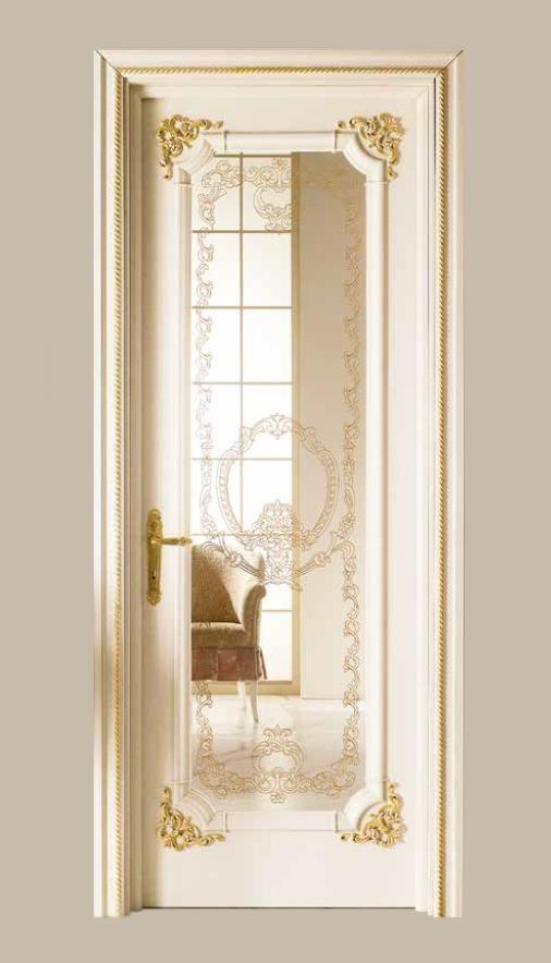 Imperium – LAVINIA Q Bianco Sabbia con oro 105 – Vetro trasparente extra-chiaro inciso con oro LTO