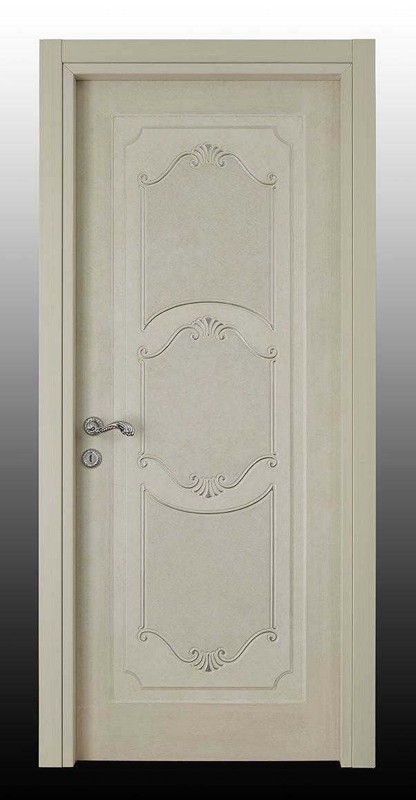 I Decorati – D 630 Q Bianco Patinato con argento